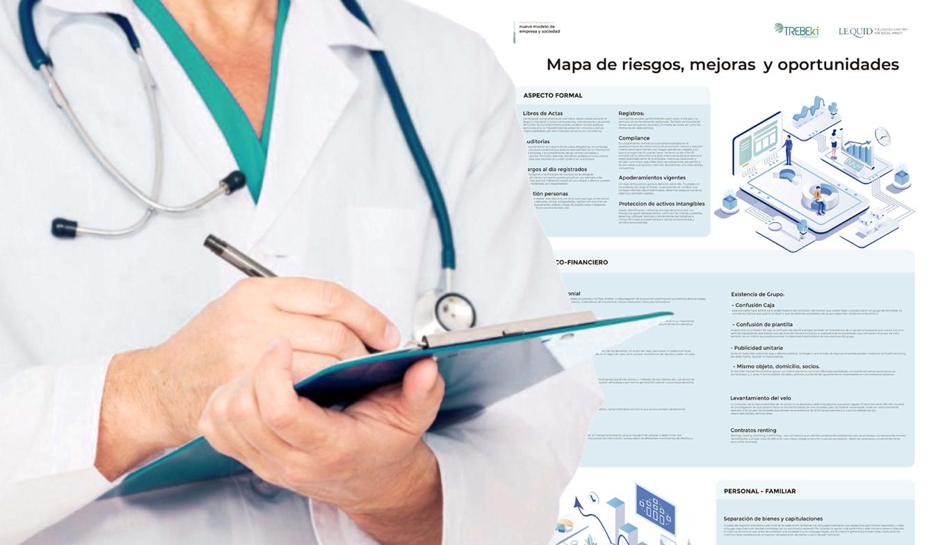 Mapa de Riesgos, Mejoras y Oportundidades para las Empresas post-COVID-19. Análisis. Diagnóstico, Mercantil. Jurídico